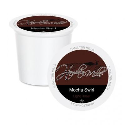 Hamilton Mills Mocha Swirl Single Serve Coffee (24 Pack)