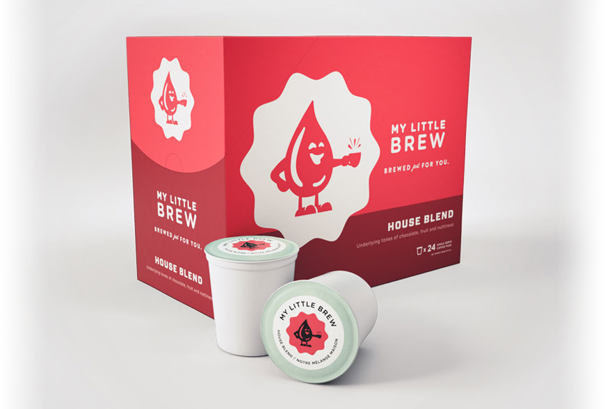 My Little Brew House Blend Single Serve Coffee Cups (24 Pack)