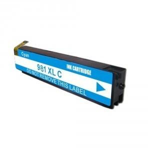 Premium New Compatible Cyan Ink Cartridge for HP 981XL (D8J07A)