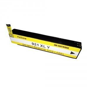 Premium New Compatible Yellow Ink Cartridge for HP 981XL (D8J09A)