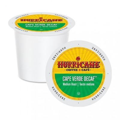 Hurricane Cape Verde Decaf Single Serve Coffee (24 Pack)