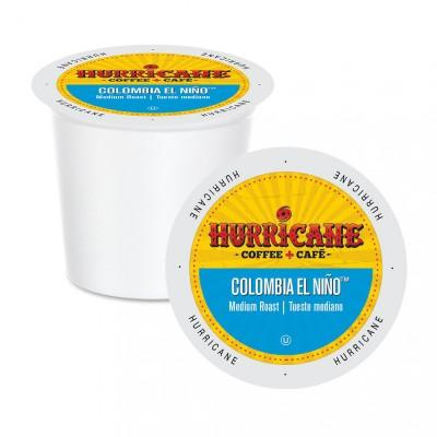 Hurricane Colombia El Niño Single Serve Coffee (24 Pack)