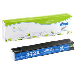 Fuzion New Compatible Cyan Ink Cartridge for HP 972A (L0R86AN)