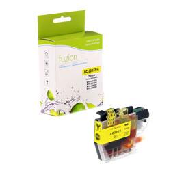 Fuzion New Compatible Yellow Ink Cartridge for Brother LC3013Y