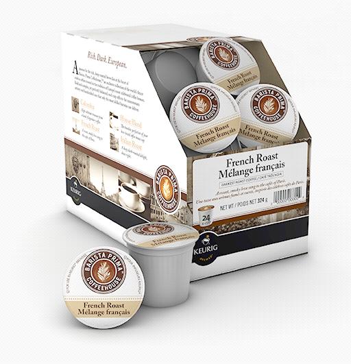 Barista Prima® French Roast Single Serve Coffee (24 Pack)