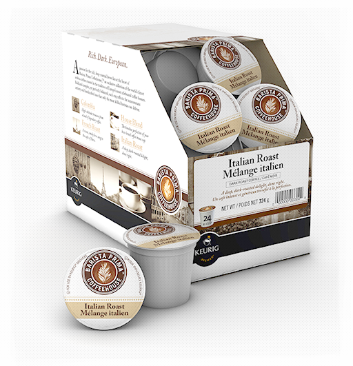 Barista Prima® Italian Roast Single Serve Coffee (24 Pack)
