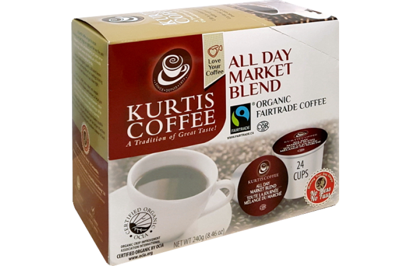Kurtis Coffee All Day Market Blend Single Serve Coffee (24 Pack)