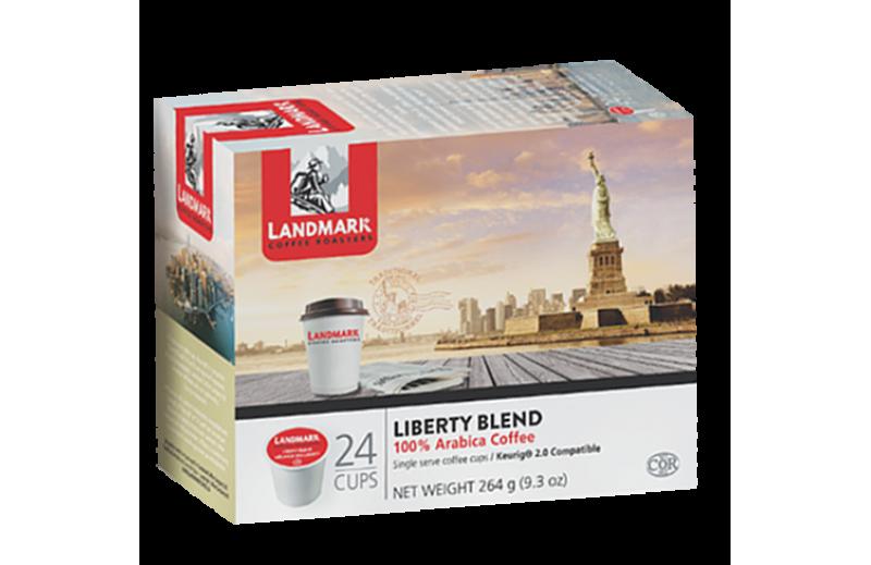 Landmark Liberty Blend Single Serve Coffee (24 Pack)