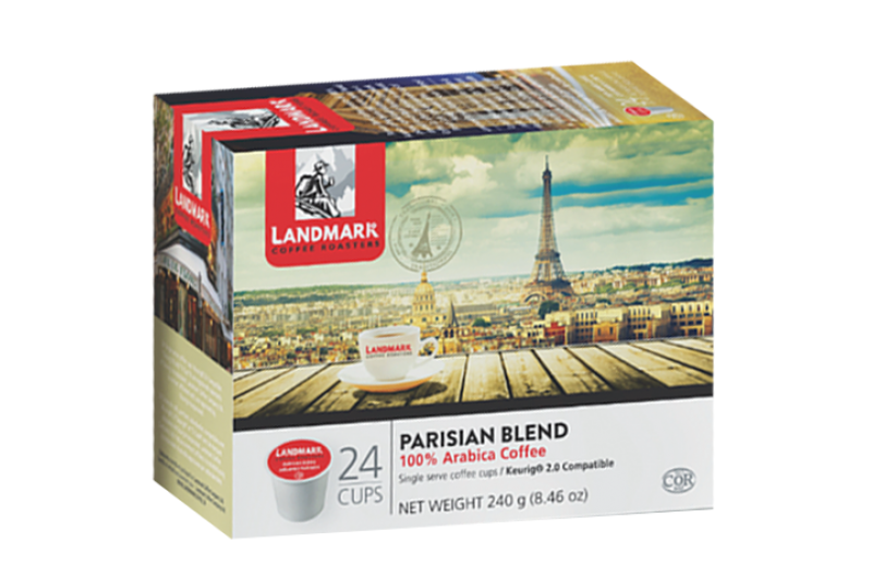 Landmark Parisian Blend Single Serve Coffee (24 Pack)