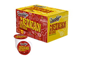 Brooklyn Beans Mexican Spice Single Serve Hot Cocoa (24 Pack)