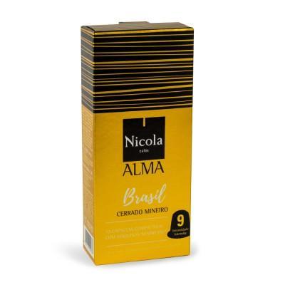 Nicola Cafés Alma Brasil Nespresso Compatible Capsules, 10 Pack