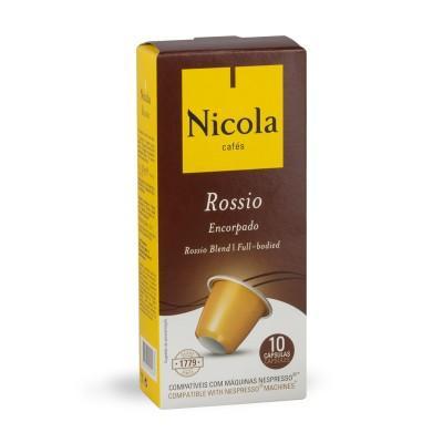Nicola Cafés Rossio Nespresso Compatible Capsules, 10 Pack