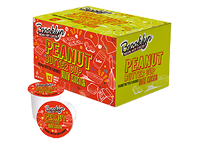 Brooklyn Beans Peanut Butter Single Cup Serve Hot Cocoa (24 Pack)