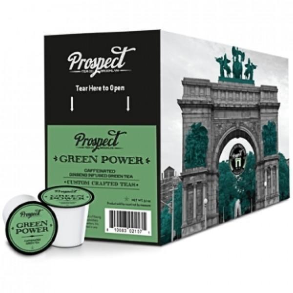 Prospect Tea Green Power Single Serve Tea (24 Pack)