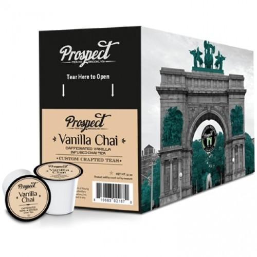 Prospect Tea Vanilla Chai Single Serve Tea (24 Pack)