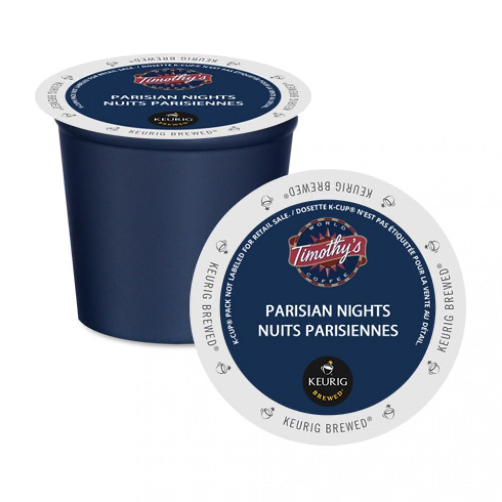 Timothy's® Parisian Nights® Single Serve K-Cup® Pods (24 Pack)