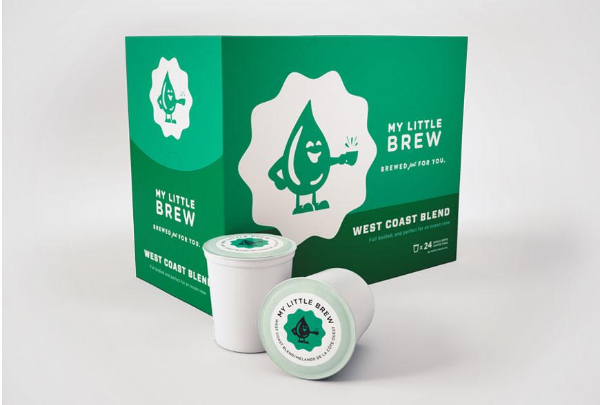 My Little Brew West Coast Blend Single Serve Coffee Cups (24 Pack)